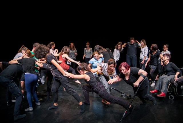 Exploring Contact Dance in an Inclusive Context
